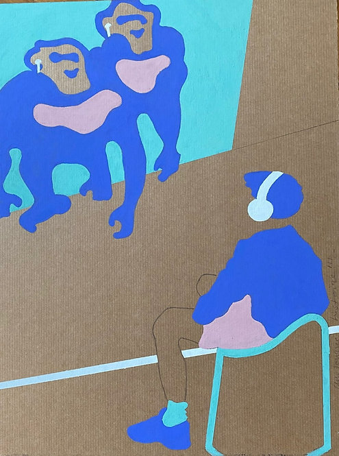 """L'exposition n°2"" par Patrick Cambolin"