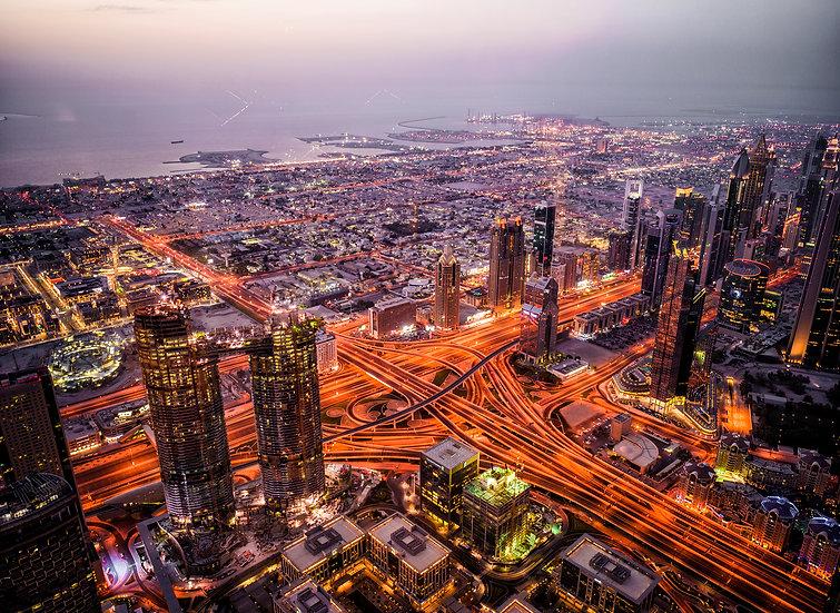 UITZICHT OVER DUBAI