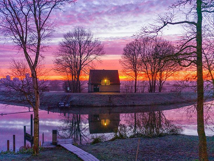 Bossche Broek in de vroege ochtend