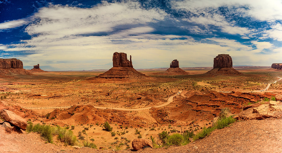 MONUMENT VALLEY / PANORAMA