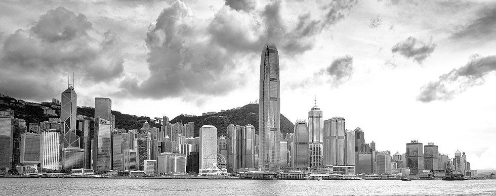 Skyline Hongkong Wallpics.nl