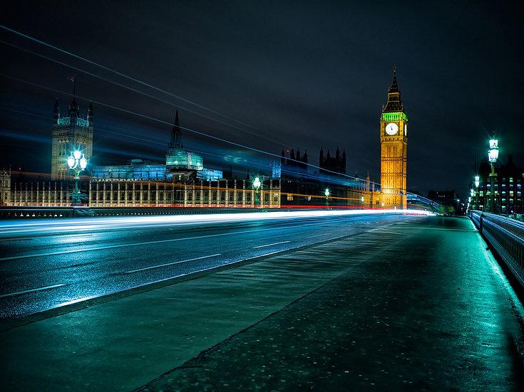 City lights London