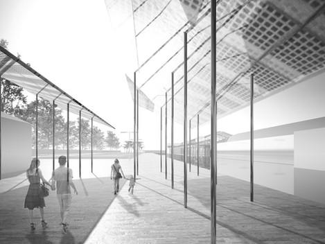 Nuovo spazio pubblico - Cuneo