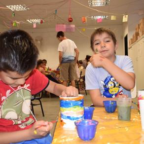 taller de pintura y cocina