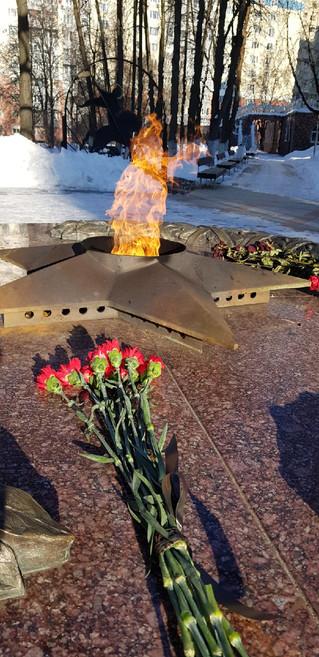 2.02.2021 в День памяти полного разгрома фашистских войск под Сталинградом