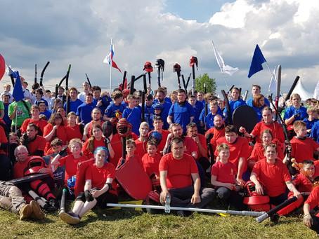 Поздравляем бойцов Школы рыцарей ЭСКАЛИБУР с успехами на фестивале Русский мир 2021 в Сергиевом Поса