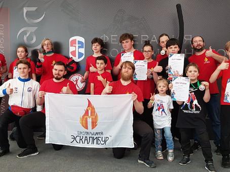 Мощно, жарко и вкусно мы с ЭСКАЛИБУРОМ закрыли учебный СМБ сезон 2020-21!