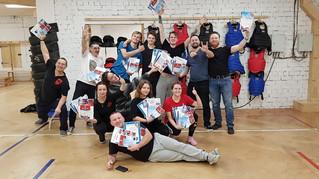 16-17 ноября 2019 в Сыктывкаре успешно прошёл Базовый Аттестационный Семинара #82 для инструкторов и