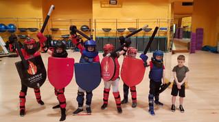 НАЧАЛИ НОВЫЙ ТРЕНИРОВОЧНЫЙ 2021 ГОД ещё в двух секциях СМБ Школы рыцарей ЭСКАЛИБУР в Москве!