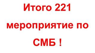 Вопрос : Сколько мероприятий планирует провести Федерация СМБ России в 2021 году?