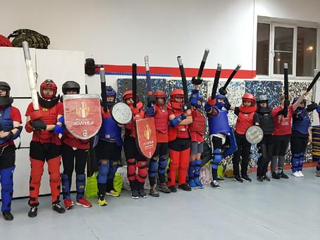 Школа рыцарей ЭСКАЛИБУР завоевала 1 МЕСТО в командном медальном зачёте на Кубке ЦФО по СМБ