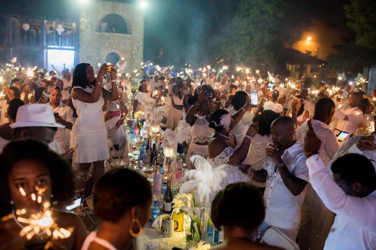 Diner En blanc Haiti