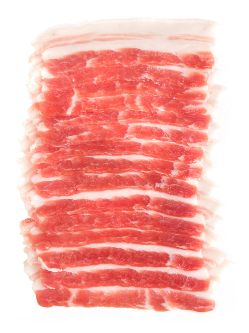 Pork Berkshire Belly Slices 1.5mm - 1LB