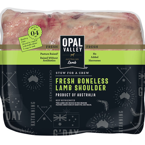 Lamb Shoulder - Opal Valley - Frozen (approx 1 KG)
