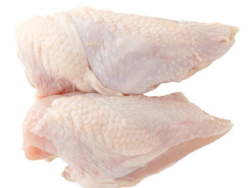 Chicken Breasts SKIN ON - 5 x 1KG
