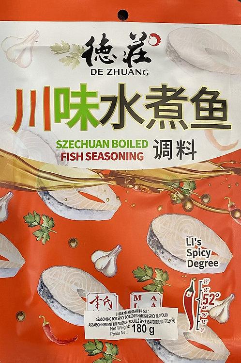 DZ Szechuan Boiled Fish Seasoning Hot Pot Soup Base