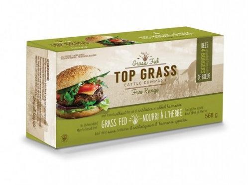 Beef Grass Fed - TG Seasoned Burgers  - 568 g