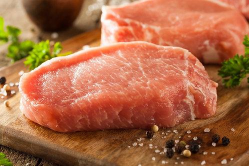Pork Boneless Chops - 2 x 1 KG