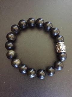 Obsidienne dorée & Cylindre