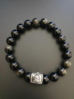 Golden Obsidian & Buddha