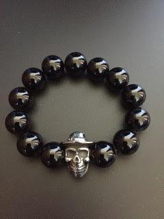 Onyx Brillante & Skull