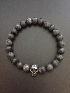 Labradorite & Skull