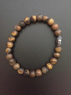 Oeil de Tigre mat & Bouddha