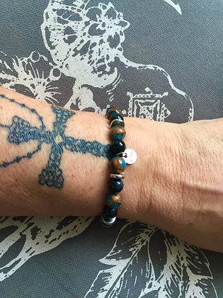 """Bracelets Duo pour ELLE """"Blue Night"""""""
