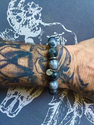"""Bracelets Duo pour LUI""""Grey Cloud"""""""