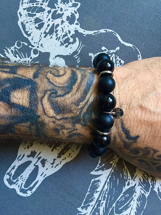 "Bracelets Duo pour LUI""All Black"""