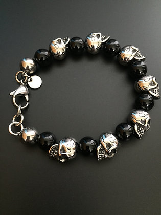Brilliant Onyx & Skull