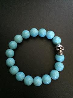 Howlite Turquoise & Skull