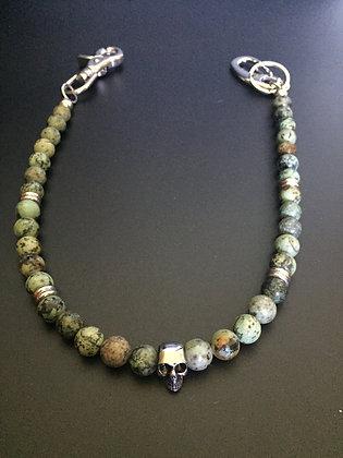 Turquoise Africaine & Skull