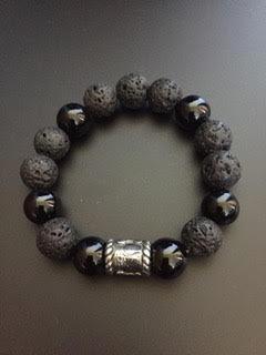 Shiny Onyx / Lava Stone & Viking Barrel