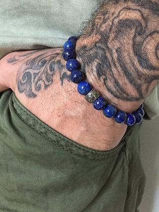 Lapis Lazuli & Bague gravée