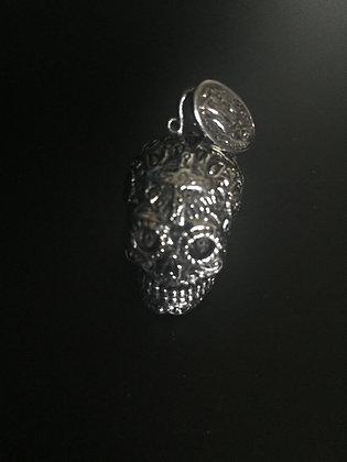 Skull Calavera Silver