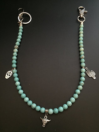 Howlite Turquoise & Charms