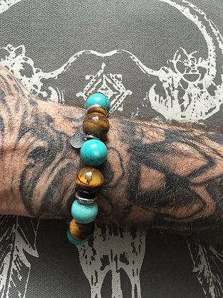 """Bracelets Duo pour LUI""""Tiger Lagon"""""""