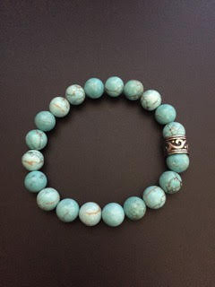 Howlite Turquoise & Bague