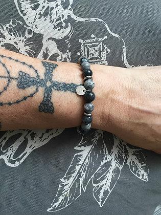 """Bracelets Duo pour ELLE """"Grey Cloud"""""""