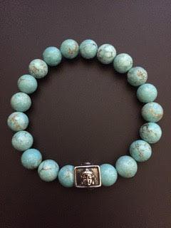 Howlite Turquoise & Buddha
