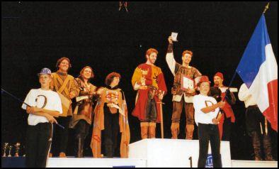 escrime artistique championnat france monde 2000