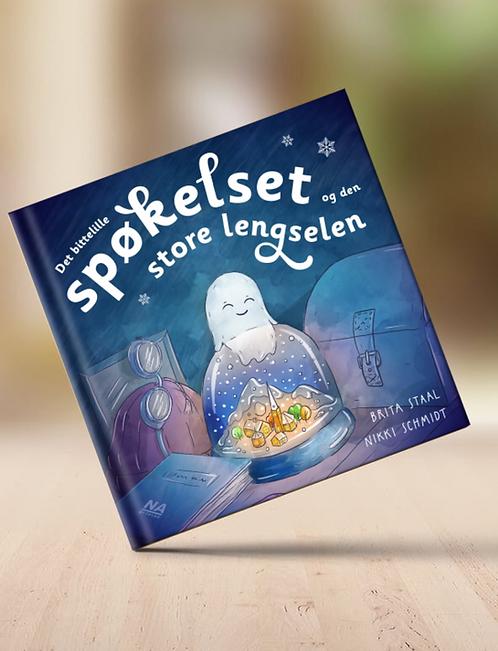 Bok: Det pyttelilla spöket och den stora längtan