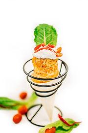 Tuna Dip Cone, Lunch Gulf Shores, Al