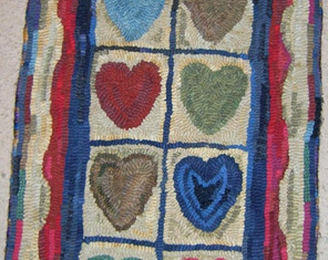 String of Hearts $285, 15x30