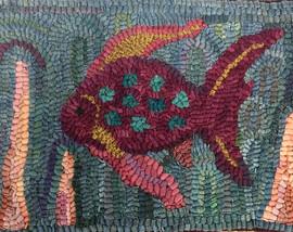 Tropical Fish, $85, 9x13