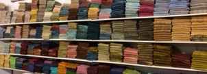Hand dyed fat quarters $13