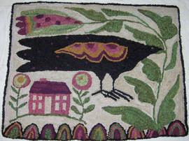 Crow and House, $350, 22x26
