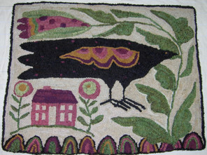 Crow and House, $350, 22x26