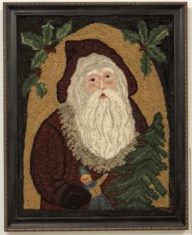 Framed Santa, $650 21x25